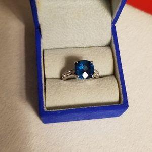 Turquoise Topaz Ring